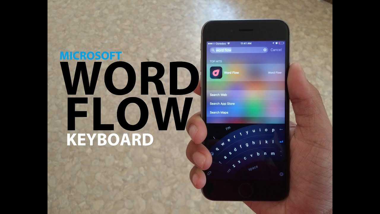 Word Flow Keyboard Review! - YouTube