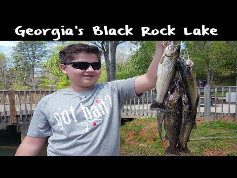 Trout Fishing Georgia's Black Rock Lake