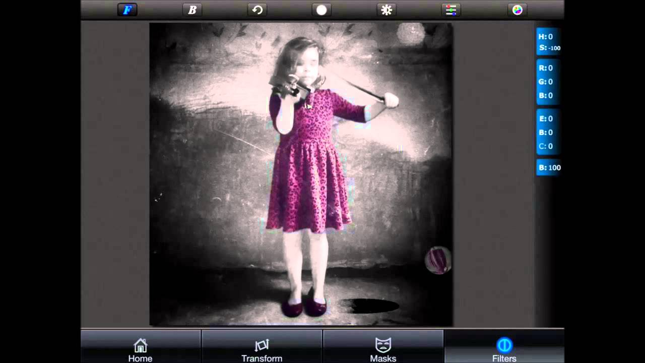 iOS Photography Tutorial - Using the Superimpose App to Mask