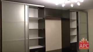 видео Шкаф-купе двухдверный с зеркалом