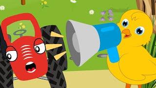 Цыплёнок Пи - Тыр Тыр Трактор – Песенки про животных