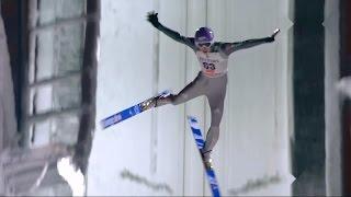 andreas wellinger anze lanisek crashes ᴴᴰ kuusamo ski jumping wc 29 11 2014