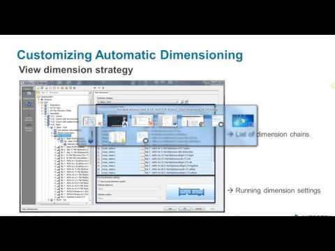 09. Drawing Style Manager: Customizing automatic dimensions - Part 1