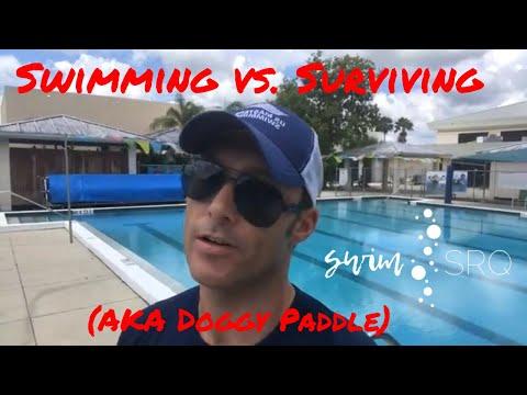 Swimming vs. Surviving