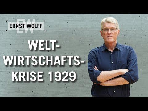 Weltwirtschaftskrise 1929 | Lexikon der Finanzwelt mit Ernst Wolff
