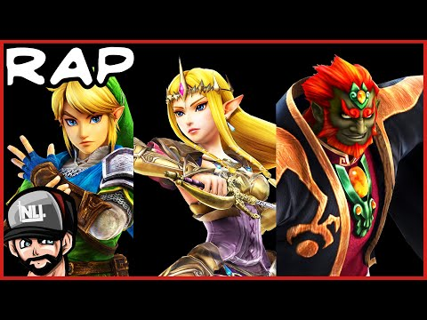 THE ZELDA TRIFORCE RAP!