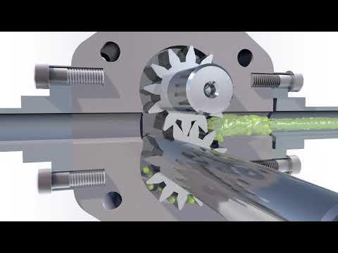 Шестеренный насос - устройство, принцип работы, применение