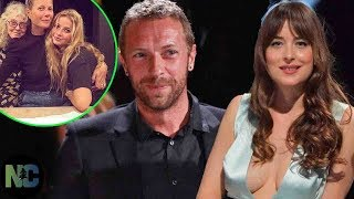 """Gambar cover Chris Martin was embarrassed with girlfriend Dakota when daughter Apple """"stole"""" her clothes"""