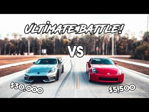 Nissan 370z Vs. 350z: True Comparison | Race | Rev Battle | Review