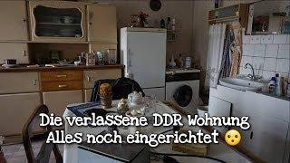 Die verlassene DDR Wohnung alles noch eingerichtet ! Lost Places | DTPictures