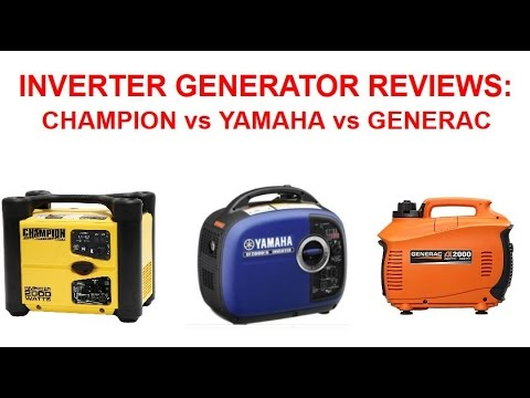 Generac Iq2000 Vs Honda Eu3000is Inverter Generator Noise