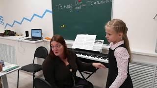 Ольгинская гимназия. Урок музыки 2 класс
