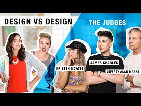 Design vs Design Color Challenge ft. judges James Charles, Kristen McAtee, and Jeffrey Alan Marks