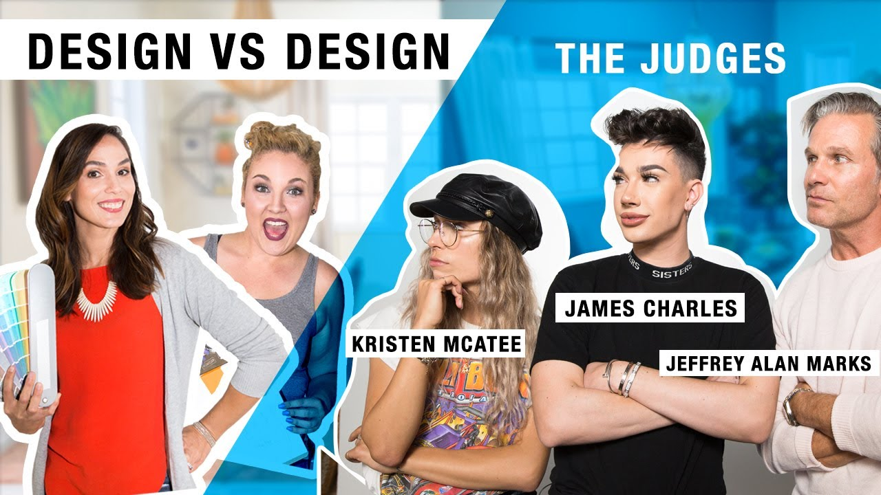 Design vs Design Color Challenge ft. judges James Charles, Kristen McAtee, and Jeffrey Alan Marks