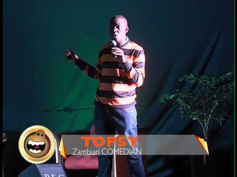 TOPSY ZAMBIAN COMEDIAN  - NURSE & POLICE DUTY EXCHANGE