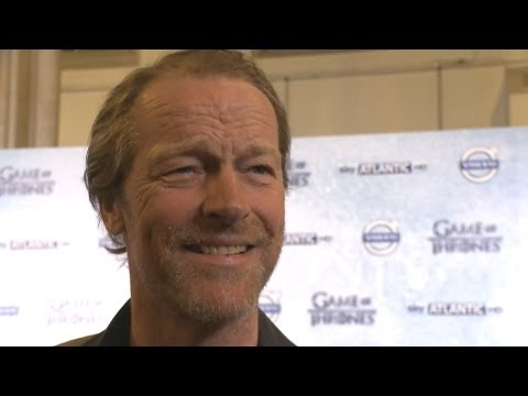 Iain Glen (Jorah Mormont) Interview - Game of Thrones Season 4 Premiere