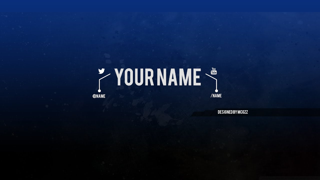youtube banner template psd free download youtube. Black Bedroom Furniture Sets. Home Design Ideas
