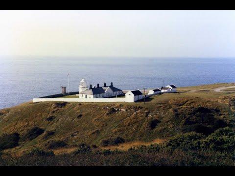 Lighthouses Of England,  Anvil Point Lighthouse, Dorset.