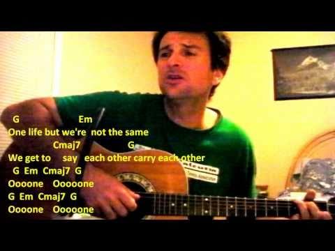 one u2 by mandu ( COVER ) -Chords & Lyrics