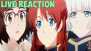 Re:Creators Episode 3 LIVE Reaction - MEETING UP WITH CREATORS!!!