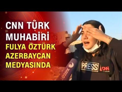 CNN Türk'ün yayını Azerbaycan'da haber oldu!   Ateş hattında gazetecilik