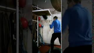 Бокс - Тренировка Разогрев на Пневматической Груше