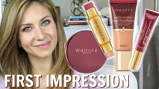 WANDER BEAUTY First Impression | FINALLY trying this Brand!