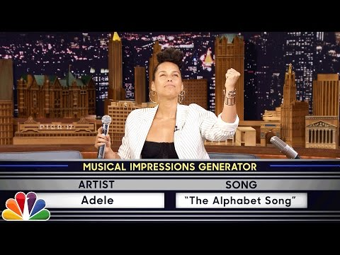 Thumbnail: Wheel of Musical Impressions with Alicia Keys