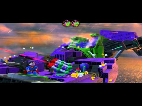 Lego Batman 2: DC Super Heroes walkthrough - Down to Earth