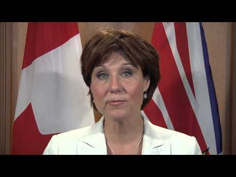 Premier Clark on the Asia-Pacific Gateway Strategy