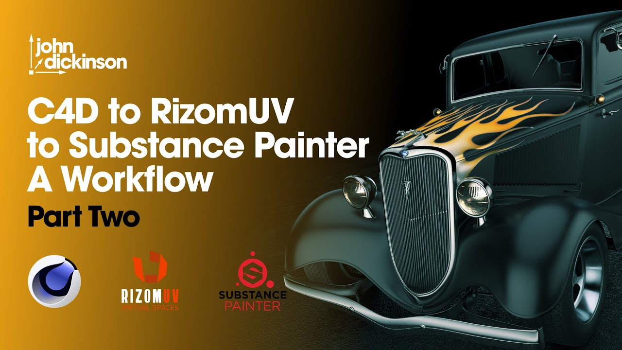 Cinema 4D to Rizom UV to Substance Painter: A Workflow - Part 2