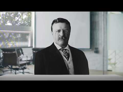 Teddy Roosevelt Interviews for a Job in Technology