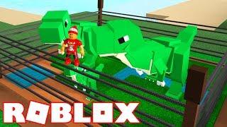 Roblox → BUILDING a DINOSAUR PARK!! -Dinosaur Park Simulator 🎮