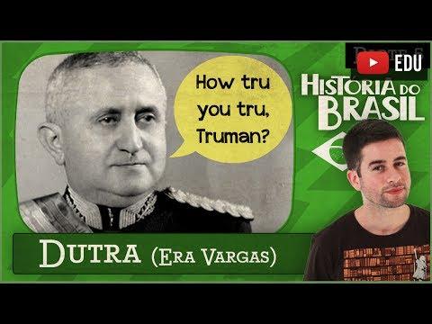 DUTRA (Vargas deposto, Constituição de 1946, Liberalismo e Plano SALTE) #5