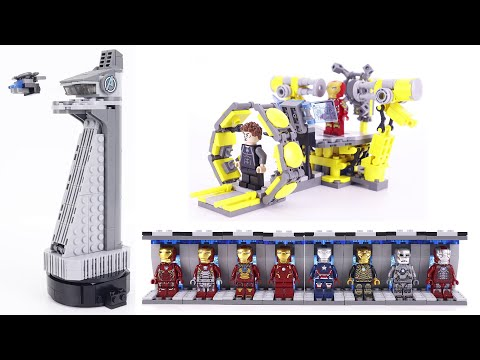 LEGO IRON MAN LABORATORY COLLECTION SPEED BUILD  Unofficial Lego