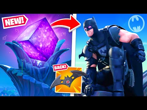 Batman's *BIG SECRET* in Fortnite! (FREE UNLOCKS!)