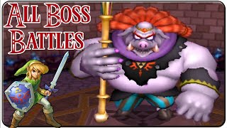 The Legend of Zelda A Link Between Worlds All Bosses