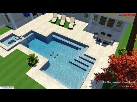 Mondern Dallas Swimming Pool with SPA