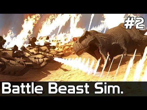 Battle Beast Simulator Gameplay PL [#2] CZOŁG kontra Zwierzęta