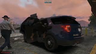 DOJ Cops Role Play Live - Animals & San Andreas Sniper (Criminal)