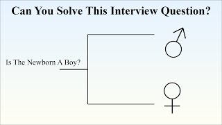 Can You Solve The Probability The Newborn Is A Boy? Many Fail This Interview Question