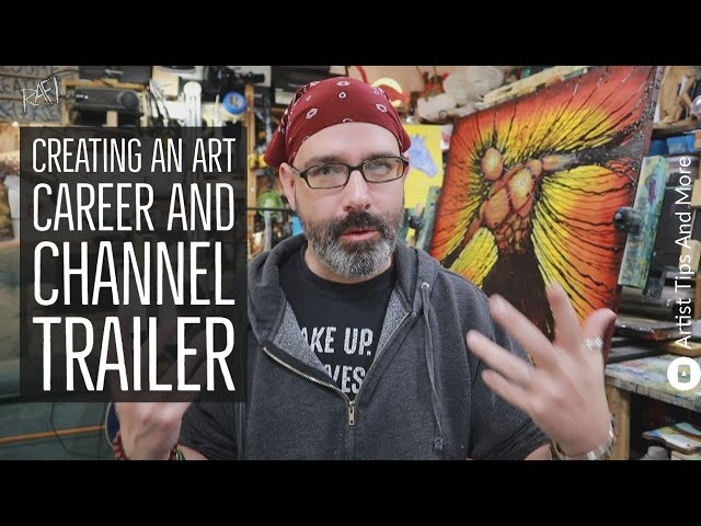 Creating An Art Career And Channel Trailer For Rafi And Klee Studios