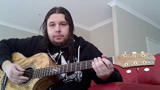 How To Play Running Blind By Godsmack On Guitar