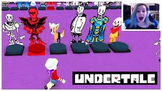 YES I LOVE UNDERTALE! | ROBLOX ROLEPLAY SHOWCASE | RADIOJH GAMES