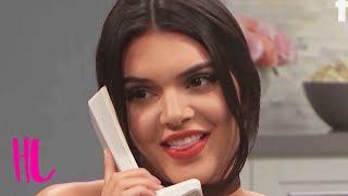 Kendall Jenner Tells Kim Kardashian She's Pregnant - 'Kocktails With Khloe' Preview