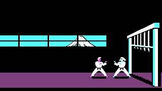 Karateka PC IBM Longplay CGA