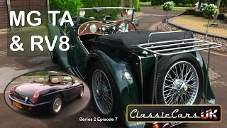 Classic Cars UK Season 02 Episode 07: Two very different MGs