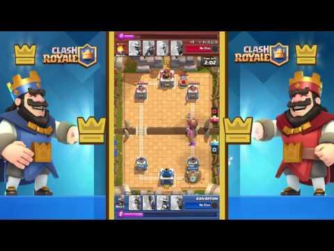 Clash Royale - Me Dandelion vs !@#$%^&*() (Mandarin) #clashroyale