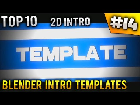 Top 10 - 2d intro templates [no text] [download] : Vidbb.com - music search engine