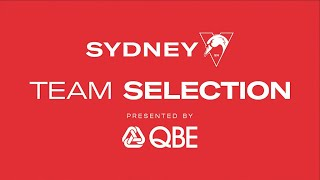 Round 13 Team Selection, presented by QBE